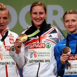 Holly Bleasdale going for gold in Sopot