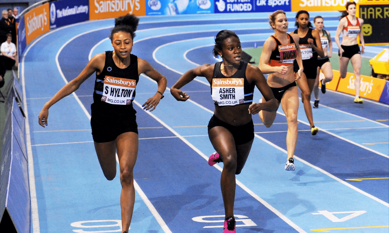 British records for Asher-Smith and Omoregie in Sheffield