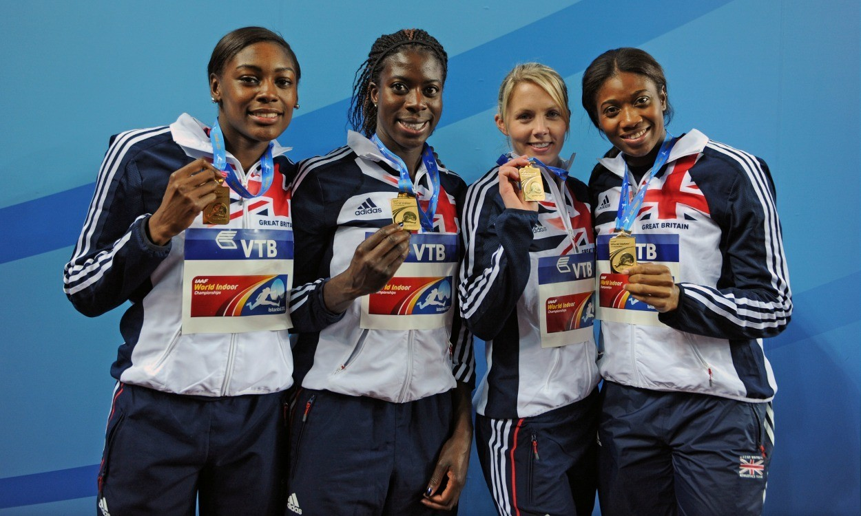 GB's women's relay team go into the event as reigning champions