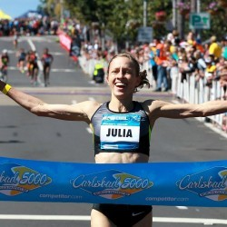Julia Bleasdale and Nick McCormick among quality fields for B.A.A. 5K
