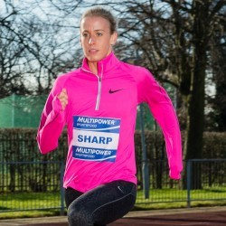 Lynsey Sharp eyes relay spot at Glasgow 2014