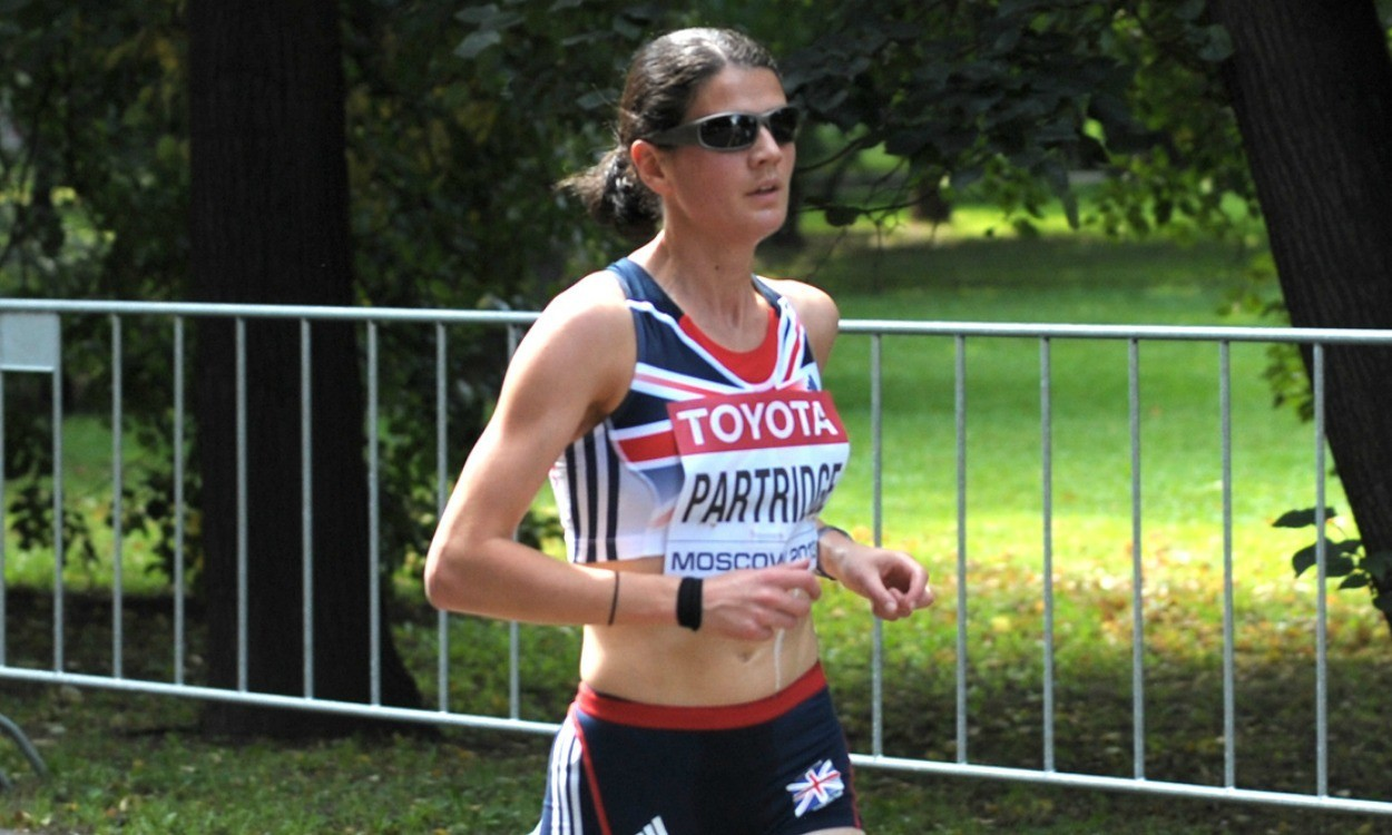 Partridge and Ross in Great Edinburgh Run action