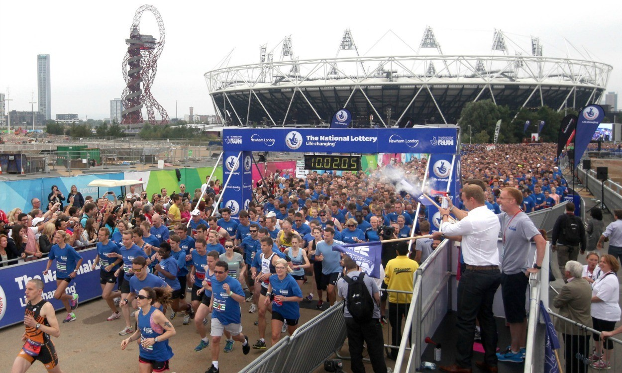 Events Runners To Return Queen Elizabeth Olympic Park For Anniversary Run