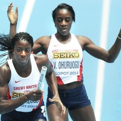 Sister act is a tough one to follow for Victoria Ohuruogu
