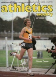 AW 1980s young Steve Cram graces cover