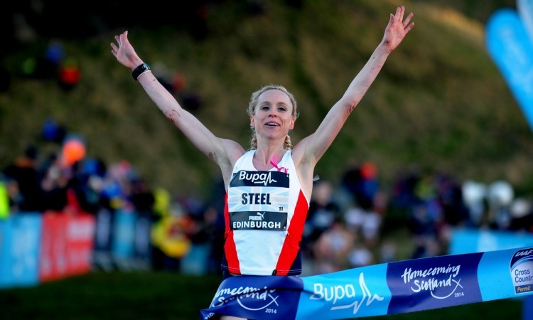 Gemma Steel Edinburgh CC 2014 (Credit: Mark Shearman)