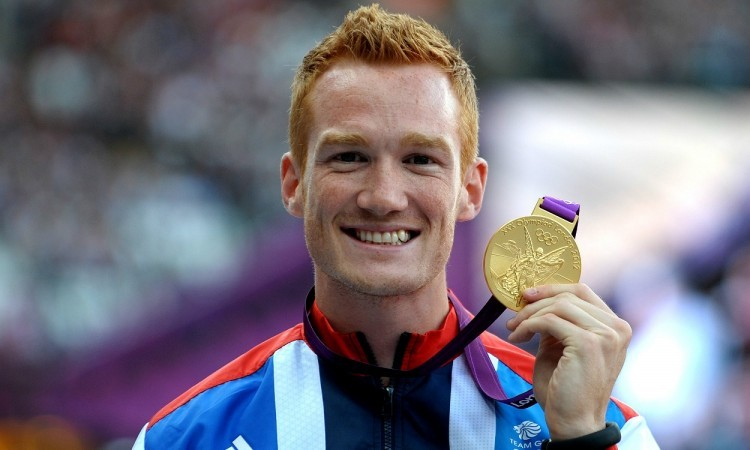 Greg Rutherford with Olympic gold (Credit: Mark Shearman)