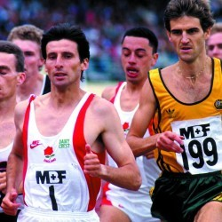 Sebastian Coe is the ultimate supermiler