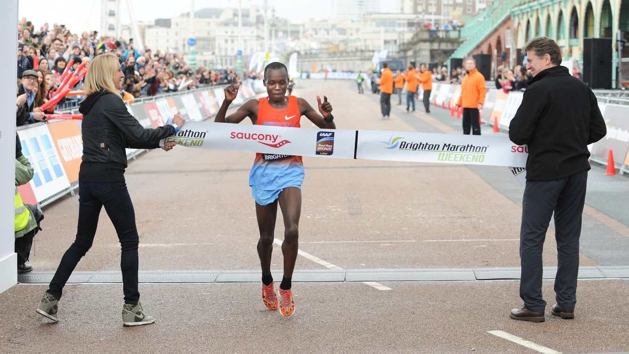 Kenyans take wins at Brighton Marathon