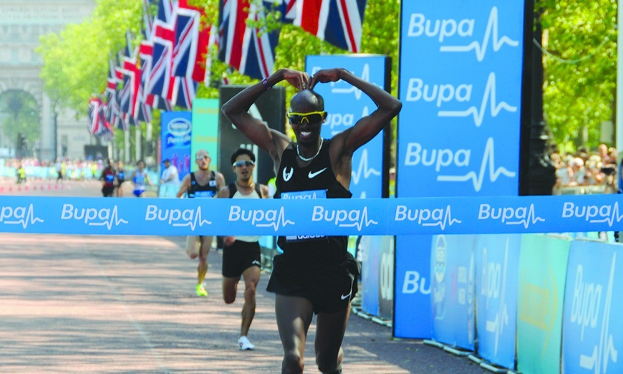 Mo Farah withdraws from Bupa London 10,000