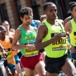 Bekele and Dibaba victorious at Great Manchester Run