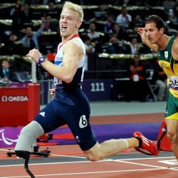 Jonnie Peacock's London 2012 win among top moments, says IPC's Craven
