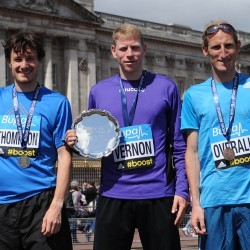 Andy Vernon and Gemma Steel win London 10,000