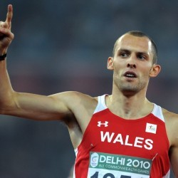 Dai Greene named in Wales team for Glasgow 2014