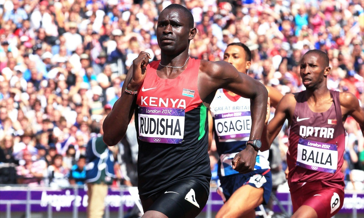 Rudisha in but Kiprop out of Kenya team ahead of Glasgow 2014