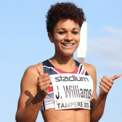Jodie Williams set to step up at Euro Team Champs