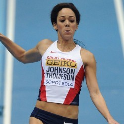 There's much more to come, says Katarina Johnson-Thompson