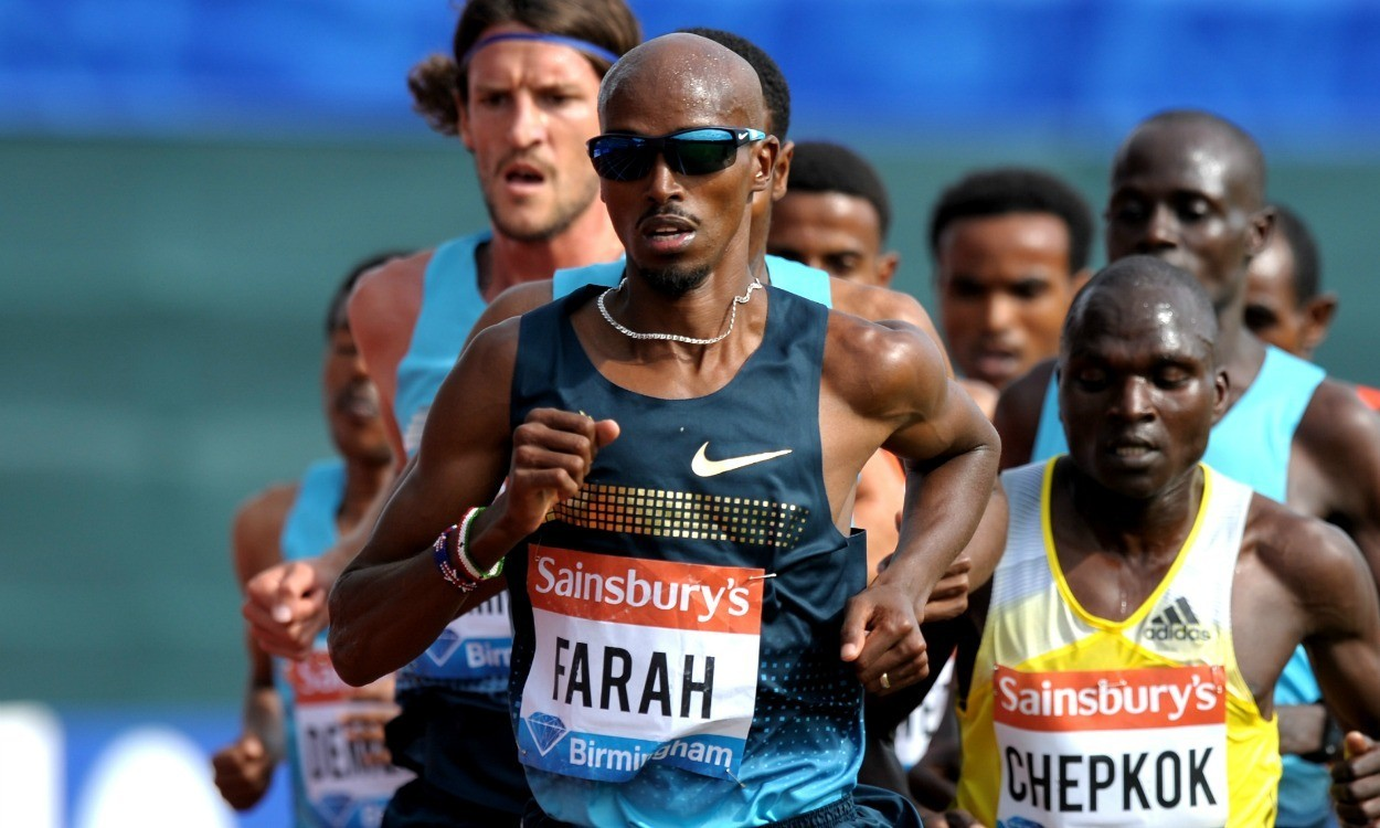 Mo Farah to miss Sainsbury's Glasgow Grand Prix