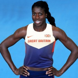 "Ohuruogu: ""If I wasn't here, I'd be at home eating cake…"""