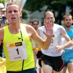 Ryan Gregson and Genevieve LaCaze win City of London Mile