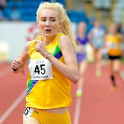 Video: English Schools senior girls 1500m