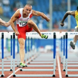 Commonwealth Games: Men's 120 yards and 110m hurdles