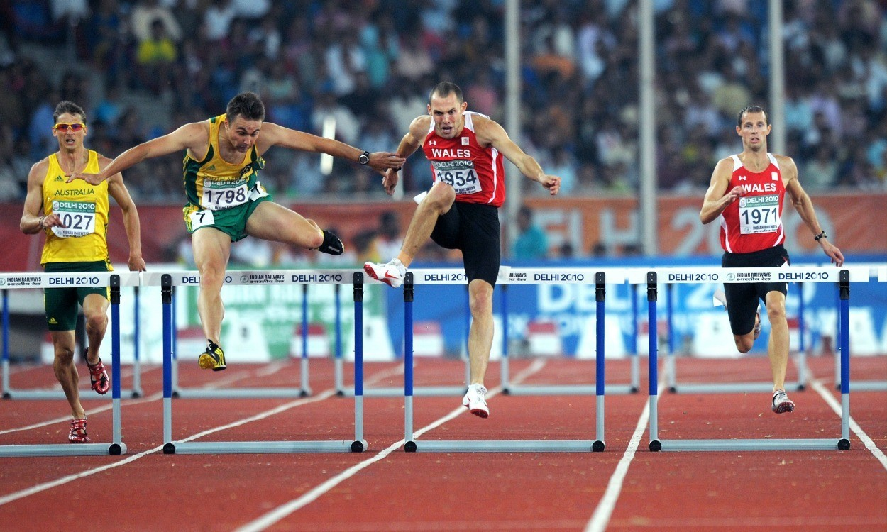 Athletics Weekly Commonwealth Games Men S 440yds 400m