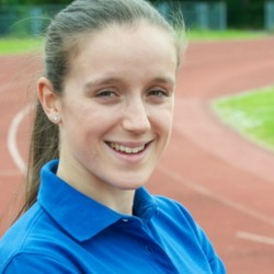 Young athlete – Diane Ramsay