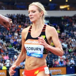 Emma Coburn on her record-breaking run