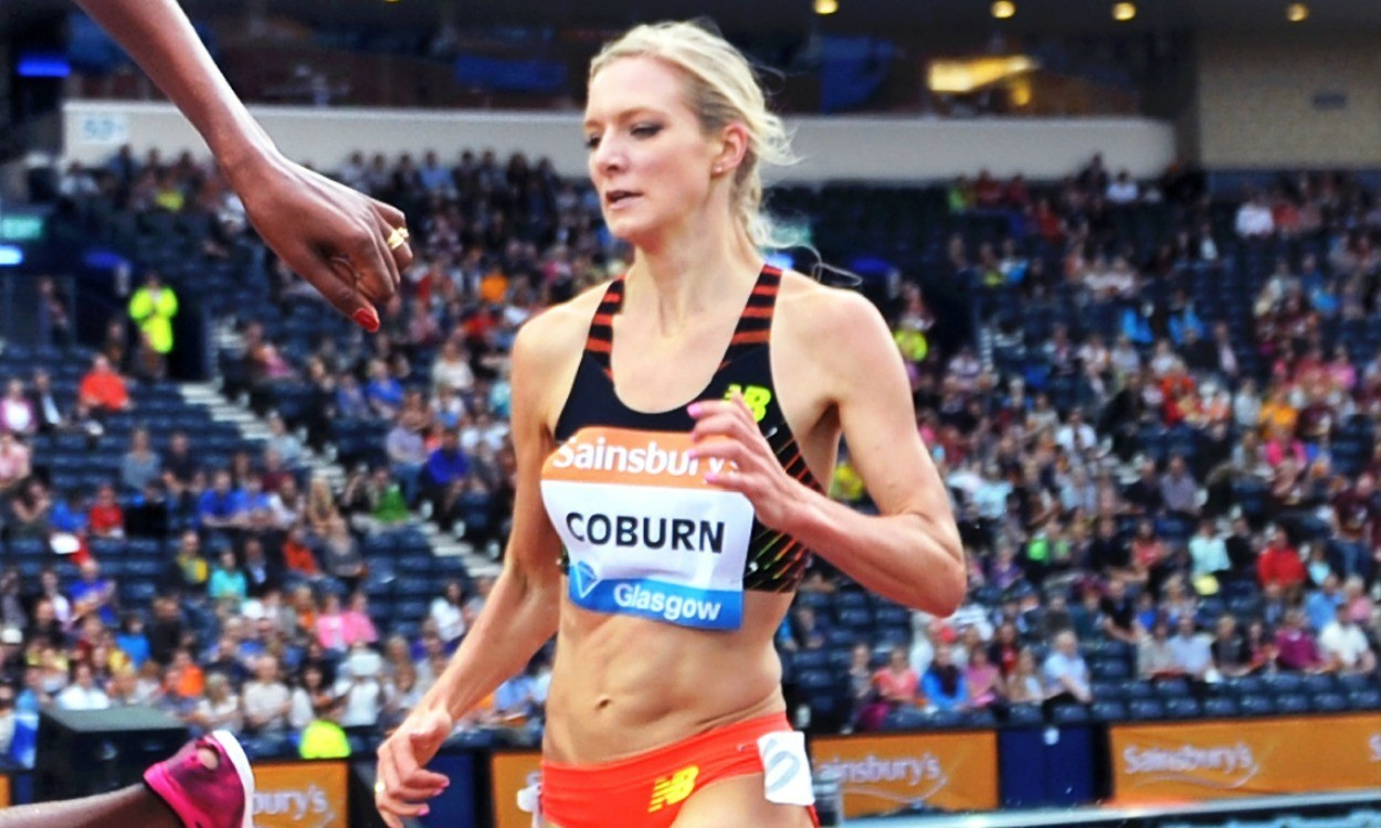 Emma Coburn on her record-breaking run