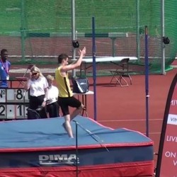 Video: English Schools inter boys high jump