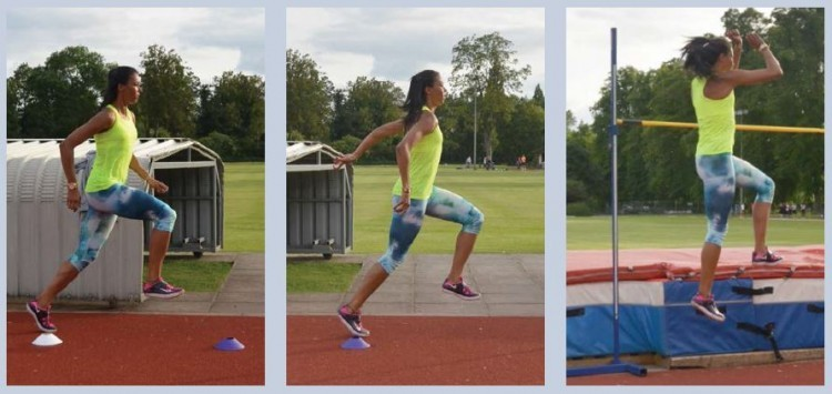 Long Jump Drills Approach