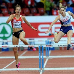 Golden run from Eilidh Child in Zurich
