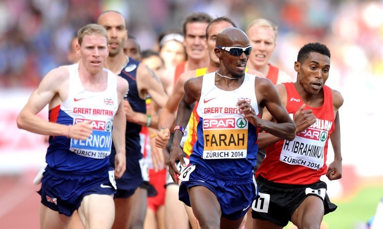 Interview with Mo Farah following European double