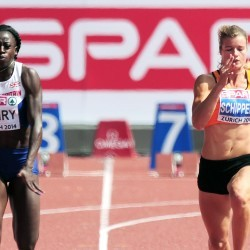 Desiree Henry proud to run a PB in Zurich