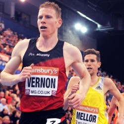 Andy Vernon to compete in Bupa Great North Run