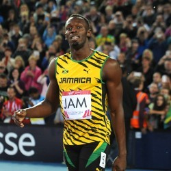 Usain Bolt runs 9.98 in Poland