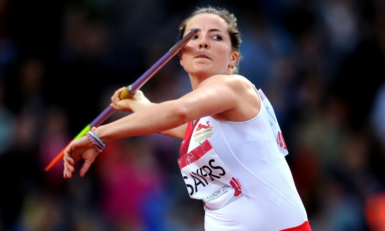 Goldie Sayers coaching: Javelin technique