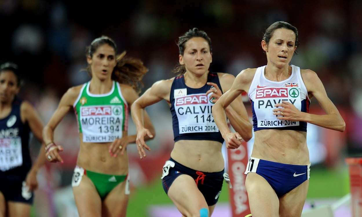 Jo Pavey wins European 10,000m gold in Zurich