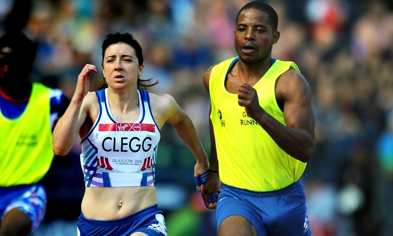 Libby Clegg ends partnership with guide runner Mikail Huggins
