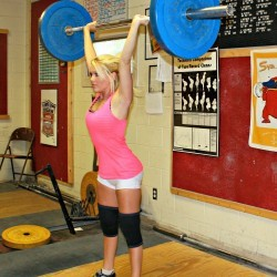 Strength: The overhead press