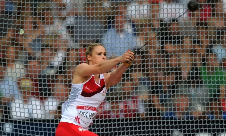 Sophie Hitchon adds hammer bronze to England's medal tally