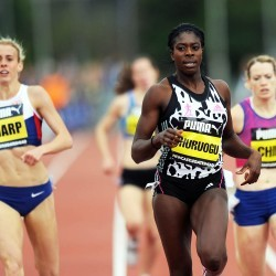 Ohuruogu streets ahead as Turner runs final race at CityGames