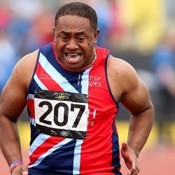 Derek Derenalagi inspired by Invictus Games spirit
