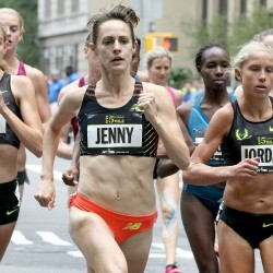 Jenny Simpson and Jordan McNamara win Fifth Avenue Mile