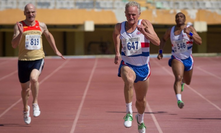GB second on medal table at European Veterans' Championships
