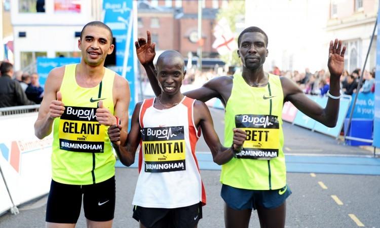 Kenyans dominate Bupa Great Birmingham Run
