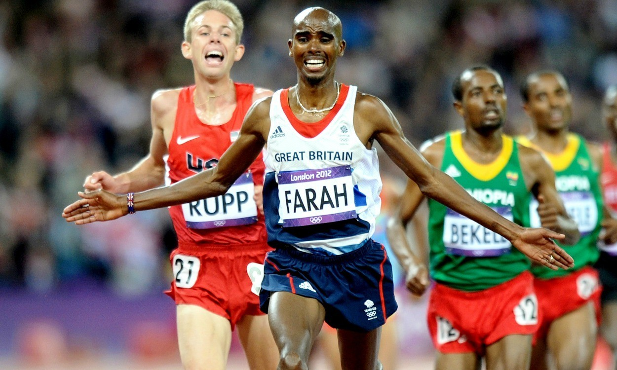 "Fellow athletes put Mo Farah's ""missed drugs tests"" into context"