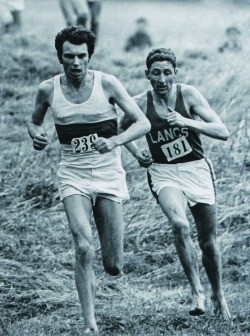 Mike Tagg and Ron Hill Inter-Counties 1968