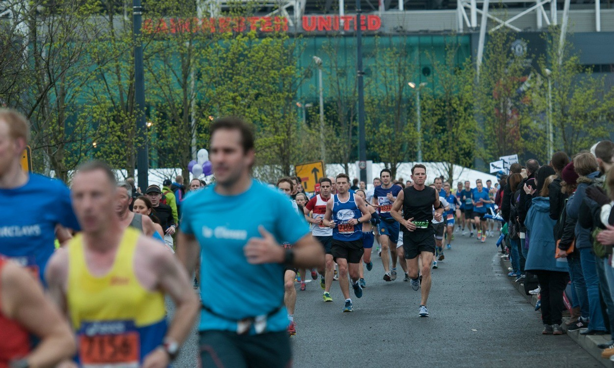 On the road to the ASICS Greater Manchester Marathon